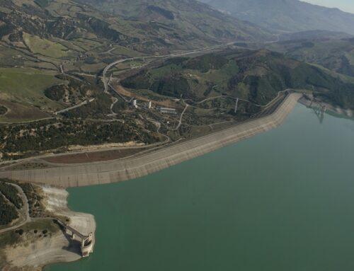 Diga di Monte Cotugno: la diga in terra battuta