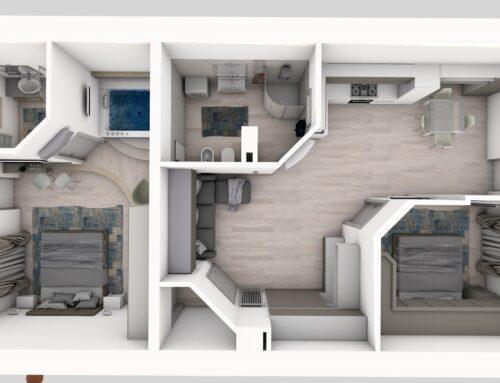 Offerta affitto suite con idromassaggio e appartamento